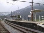 波高島駅ホーム