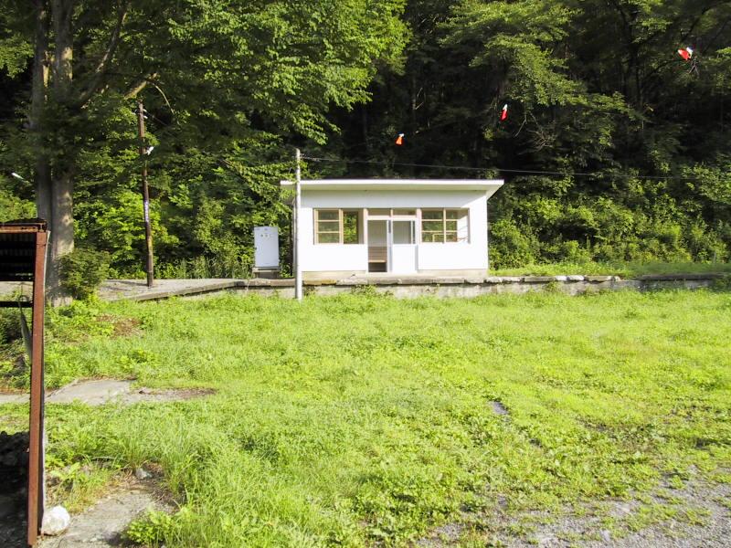 旧・JR岩泉線・岩手大川駅(いわ...