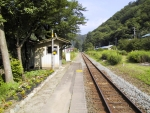 箱石駅ホーム