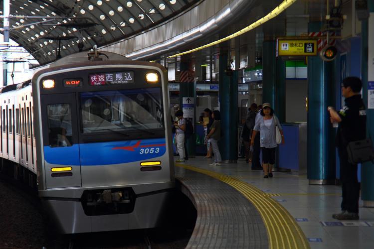 京成3050形3053F 京成船橋
