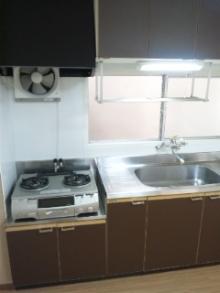 キッチン全体クリーニング 広島 ハウスクリーニング