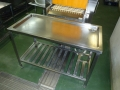 給食室水切り台補修1