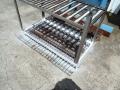 給食室水切り台補修6