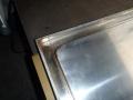 給食室水切り台補修7