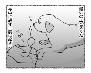 羊の国のラブラドール絵日記シニア!!「エビスの最近の悩み」1