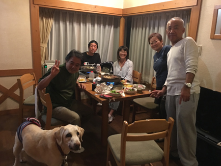 羊の国のラブラドール絵日記シニア!!「日本旅行記その1」8