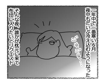 羊の国のラブラドール絵日記シニア!!「寒がりボーイ」1