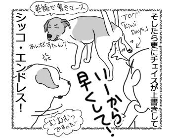 羊の国のラブラドール絵日記シニア!!「負けず嫌いか」5