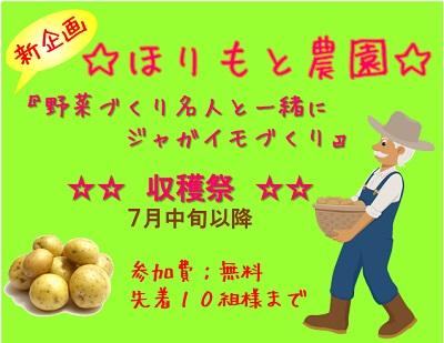 イベント_ほりもと農園_ジャガイモ収穫祭