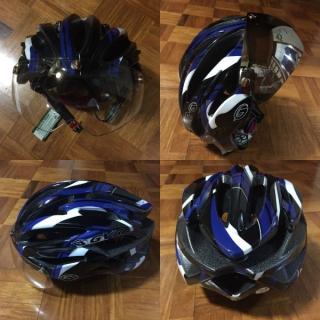 20160517GVR/G-307Vシールド付サイクルヘルメット
