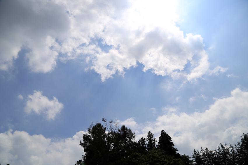 20160729梅雨明けの空
