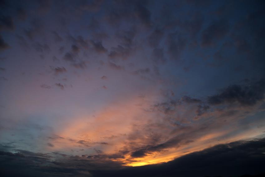 20160918花巻の夕景5