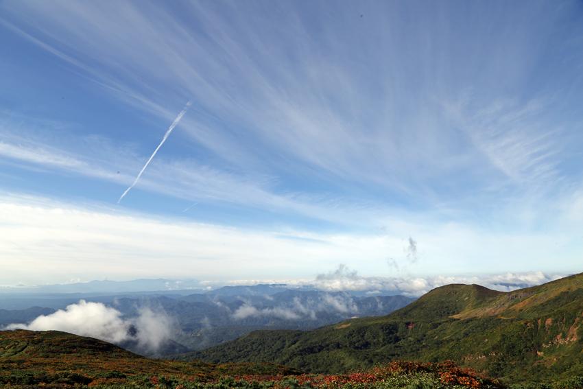 20160924栗駒山から見る空