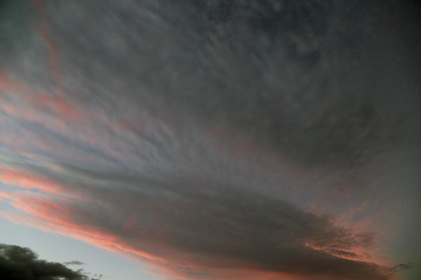 20160929夕陽に染まる雲4