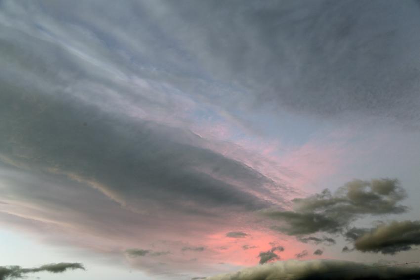 20160929夕陽に染まる雲5