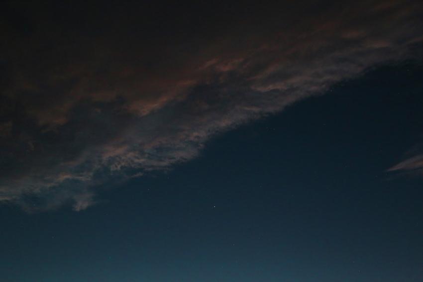 20160929夕陽に染まる雲7