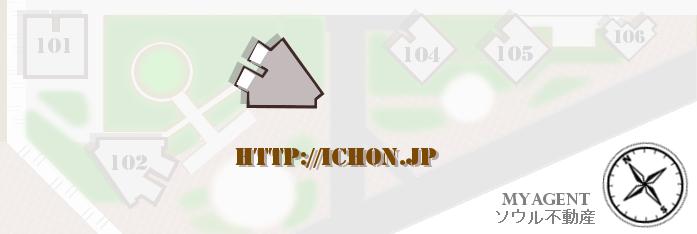 韓国 パークタワー 間取り図
