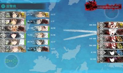 E7夜戦突入時はこんなんで