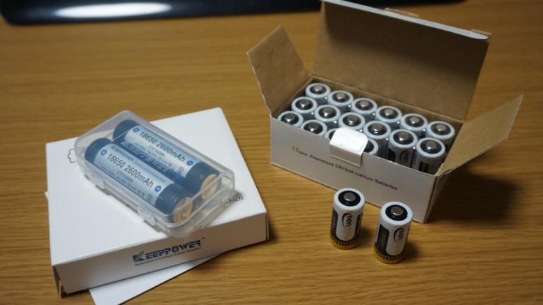 ライト用電池 (1)