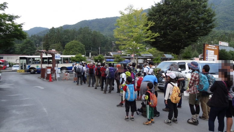 木曽駒ヶ岳前半 (1)