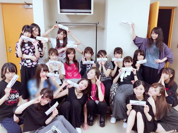 乃木坂46アンダーライブ全国ツアー2016広島公演 集合写真