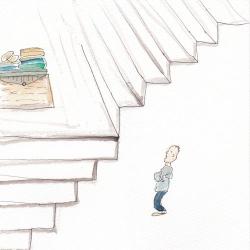 いもあられ@階段途中の、、、、、