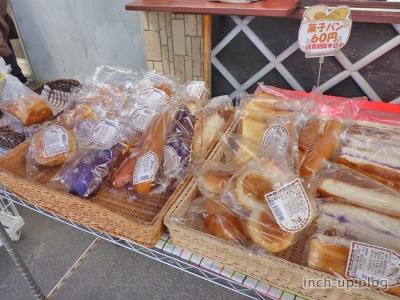 菓子パンコーナー