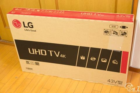 43UH6100 LG テレビ