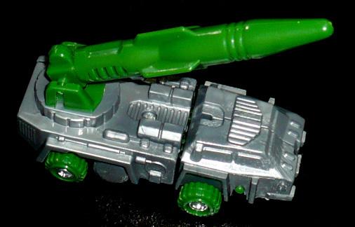 ポニー 変形ロボット ミサイル車 ビークルモード
