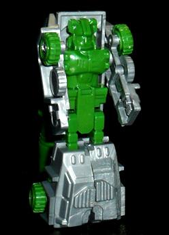 ポニー 変形ロボット ミサイル車 ロボットモード