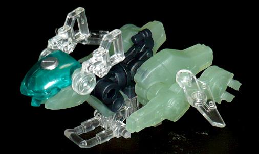 ジスタ 零式狩武 バイク形態