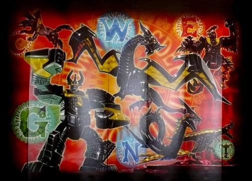 次世代ワールドホビーフェア'16 Summer バンダイ食玩 言獣覚醒ワーディアンブース