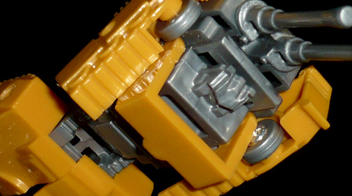 ポニー 変形ロボット 戦車 ロボットモード