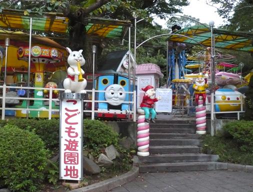 上野こども遊園地・閉園