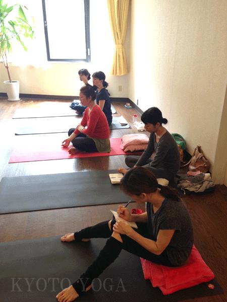 1606_講師トレーニング 京都ヨガ・IYC京都 スタジオ