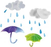 激しい雨①