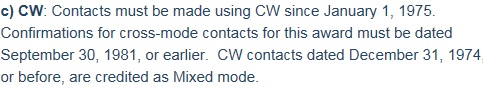 DXCC-CW