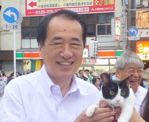 元総理大臣 衆議院議員菅直人先生500