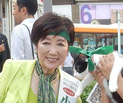 500小池ゆりこ先生 知事選挙