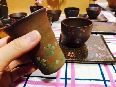 津軽金山焼き「桜」_7843