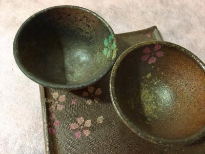 津軽金山焼き「桜」_3975_0