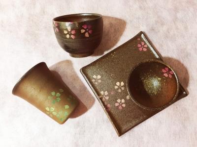 津軽金山焼き「桜」_2752