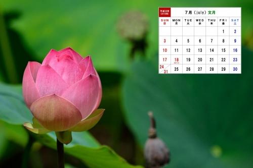 7月カレンダー 3