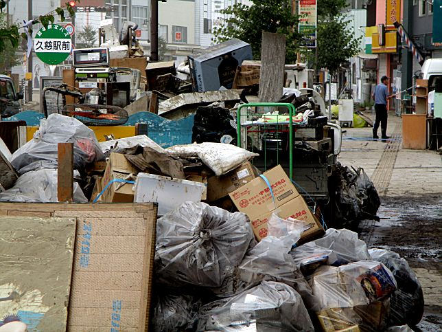 台風で津波被災地がまた被災2