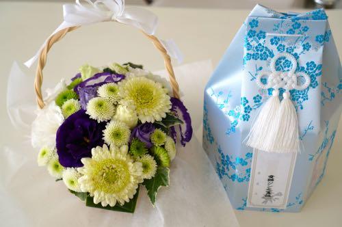 レオさまお花