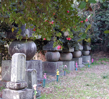 額安寺墓地