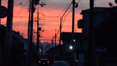 13.7.24夕焼け2