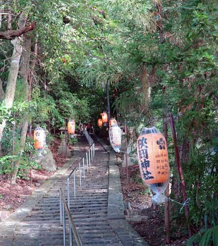 161010狭岡神社石段