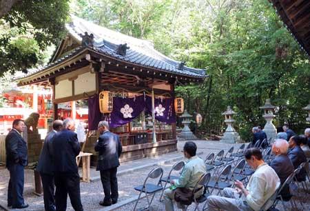 161010狭岡神社拝殿