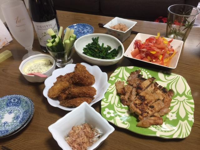 2016426夕飯
